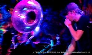 Kirk Joseph and Matt Hubard - ♫ 7 Walkers - Dec. 29 2011 | (♥) Jose Mediavilla for Deadheadland.com | (~);}