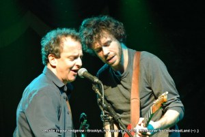 Scott Metzger and Dave Dreiwitz - Bustle In Your Hedgerow 2012-01-27 - Brooklyn Bowl | Photo by Timezoner for Deadheadland