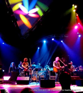 Sunshine Becker, Jeff Pehrson, John Kadlecik, Joe Russo Bob Weir, Phil Lesh - Furthur NYE 2011 > 2012 | (♥);} MarkoVision for DeadHeadLand