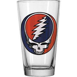 Grateful Dead Drink Pint Glasses