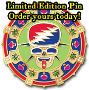 Limited Edition Pin - order yours today!