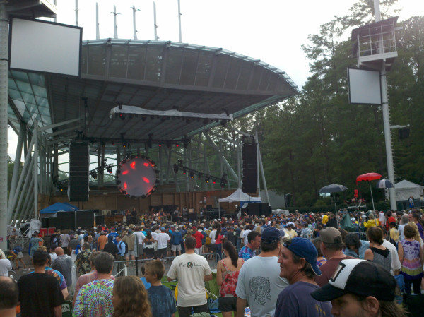 SETLIST: Furthur, Cary, North Carolina, July 11 2012