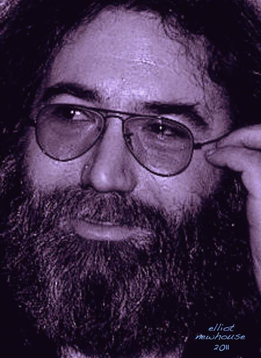 Jerry Garcia by Elliot Newhouse