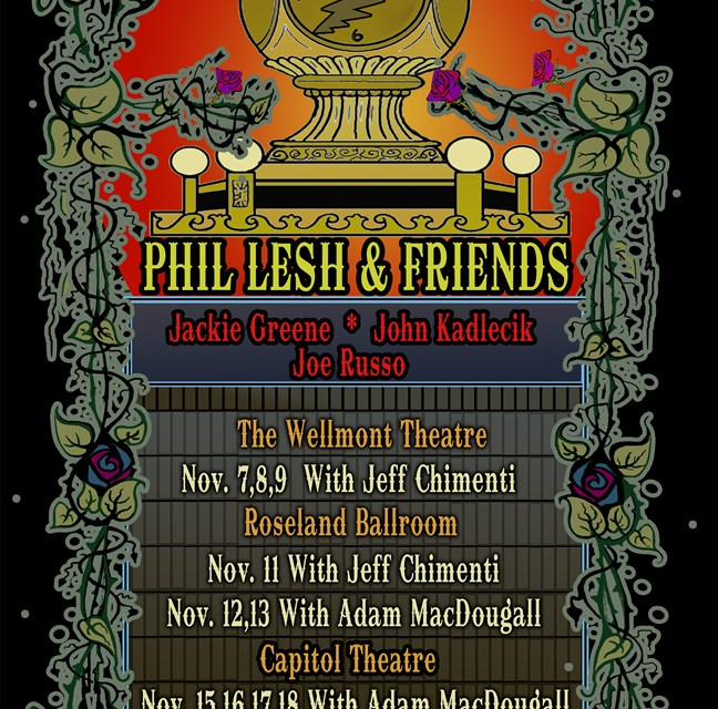 Setlist & Video Clips: Phil Lesh and Friends, Wellmont Theatre, Monclair NJ November 9 2012 (Friday)