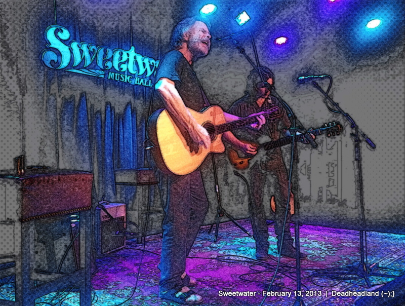 Lukas Nelson with Bob Weir at Sweetwater, Mill Valley, California – February 13, 2013