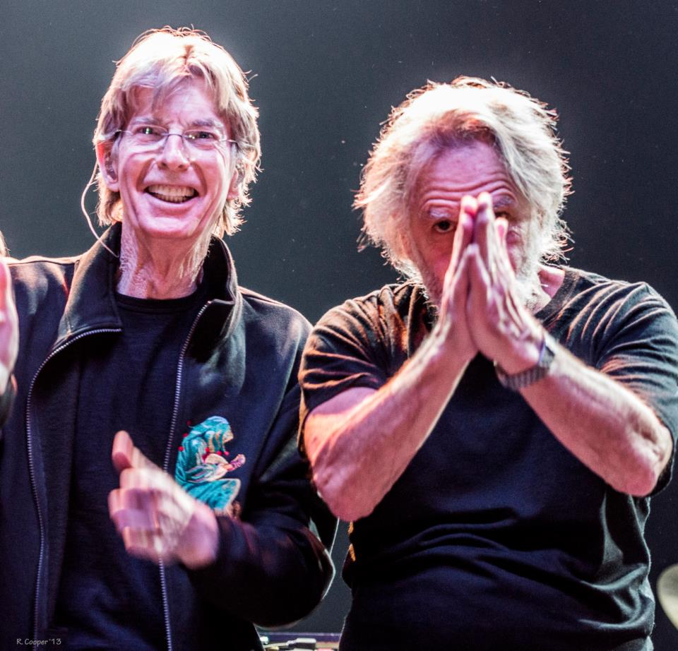Phil Lesh, Bob Weir of Furthur - by R. Cooper Photography 2013