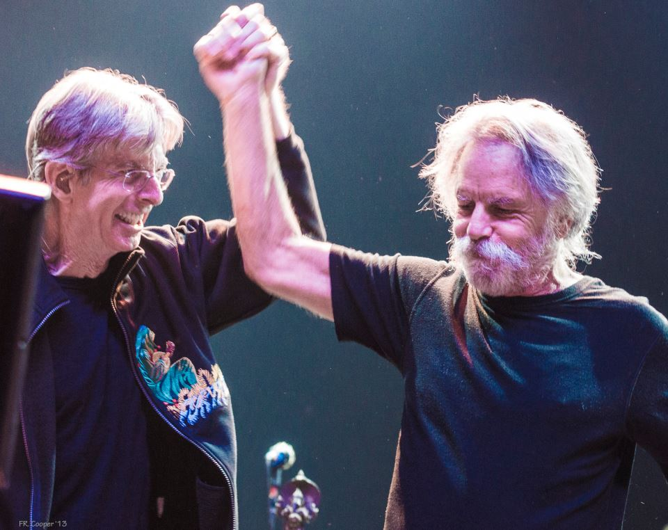 Bob Weir and Phil Lesh 2013.04.27 Atlantic City by Rick Cooper