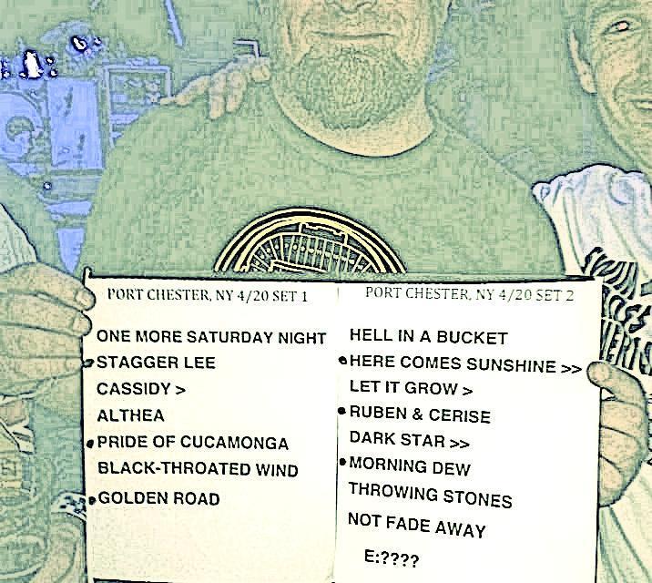 Setlist – Furthur, April 20, 2013, Capital Theatre, Port Chester NY