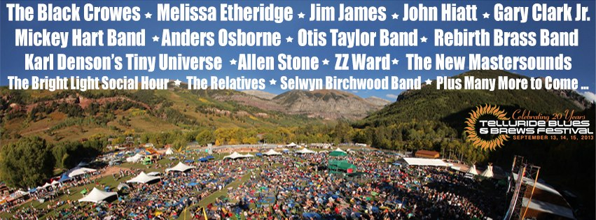 Telluride Blues and BRews