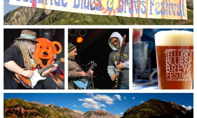 20th Telluride Blues & Brews Festival: The Black Crowes, Mickey Hart Band and many more