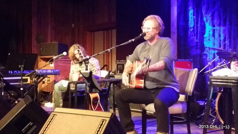Anders Osborne Acoustic | Sun. Dec. 29, 2013 | The Grate Room, Terrapin Crossroads, San Rafael, CA