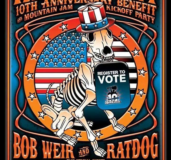 SETLIST: Ratdog & Friends  Headcount Benefit  Brooklyn Bowl Brooklyn , NY June 4 2014