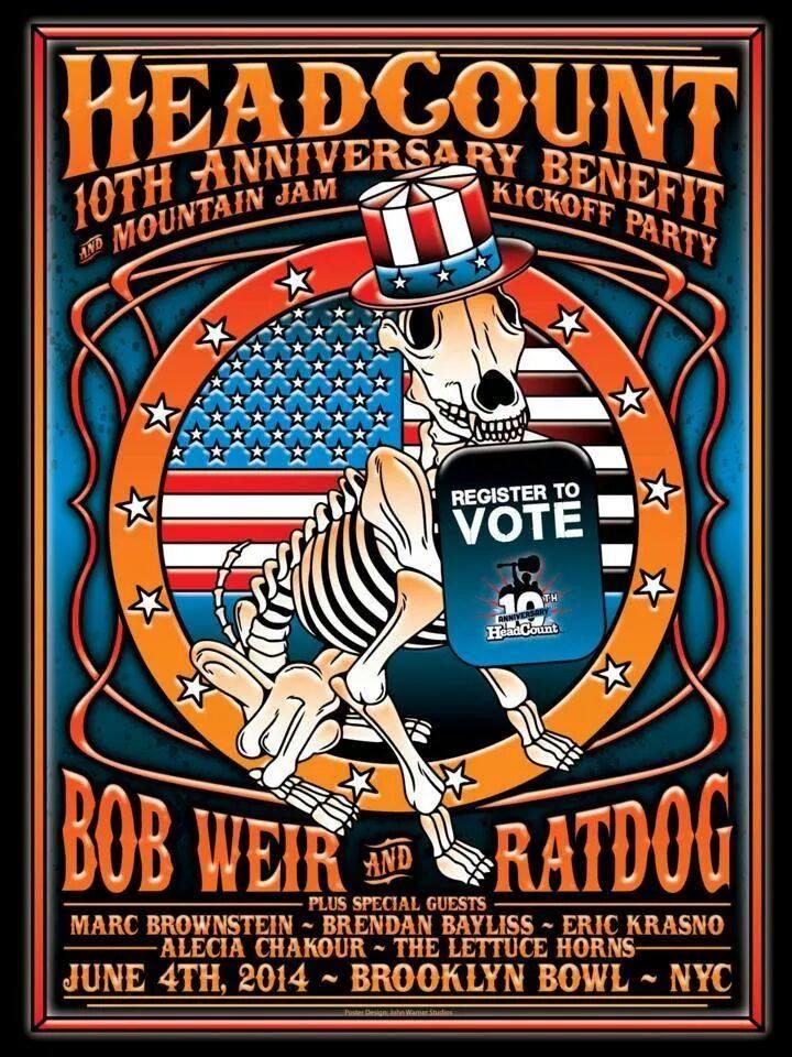 Ratdog Headcount poster
