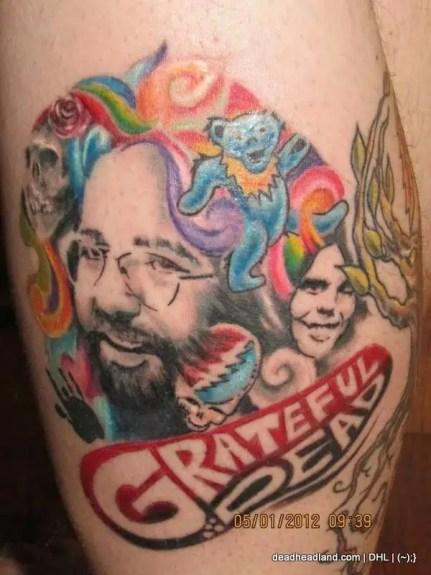 Best Jerry Garcia Tattoos - DHL (1)