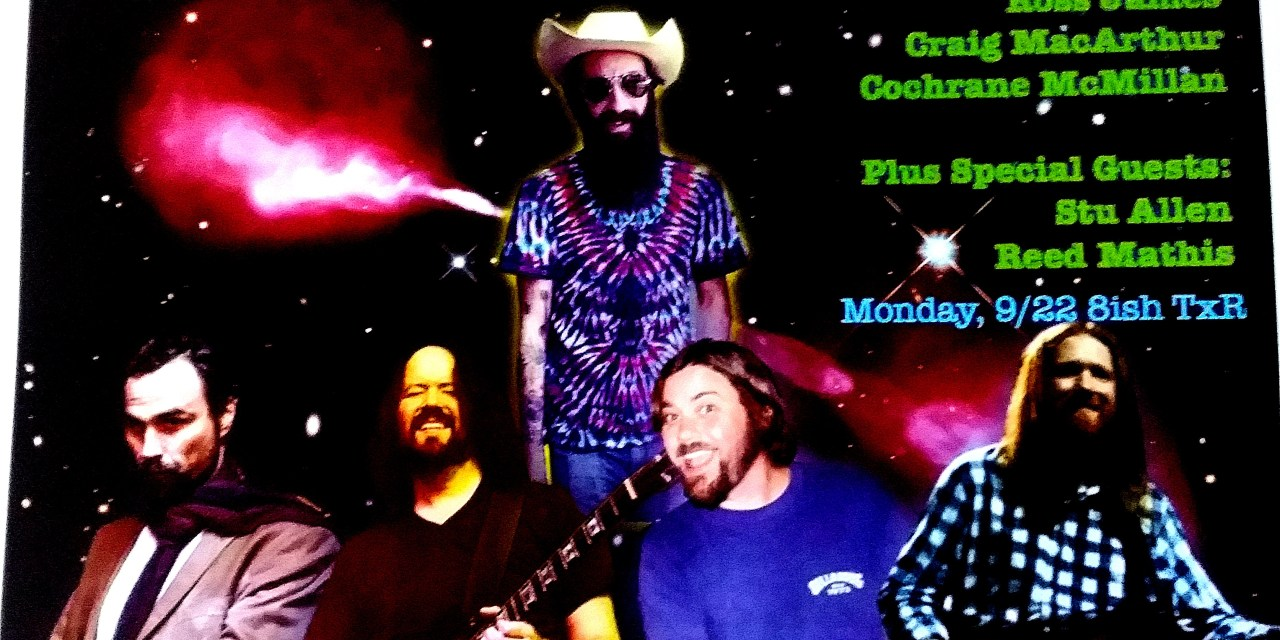 SETLIST & Video: Ross James Radio Galaxy with Stu Allen and Reed Mathis, Terrapin Crossroads MOnday Sept 22 2014