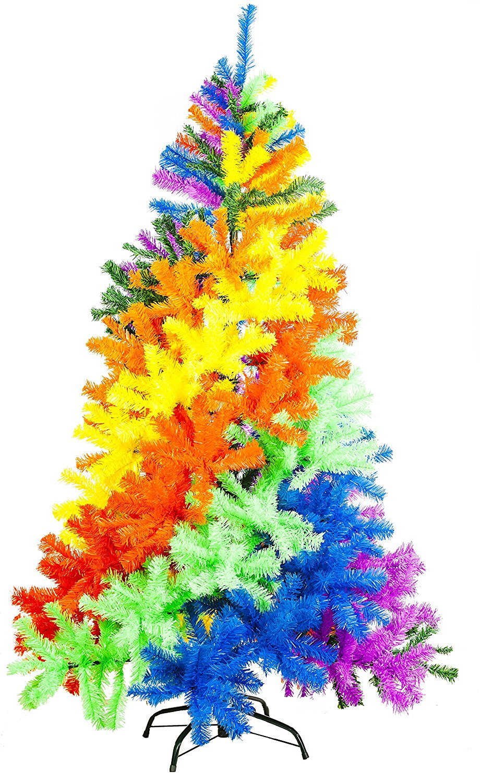 Deadheadland | (~);} | Beautiful Tie Dye Christmas Trees!