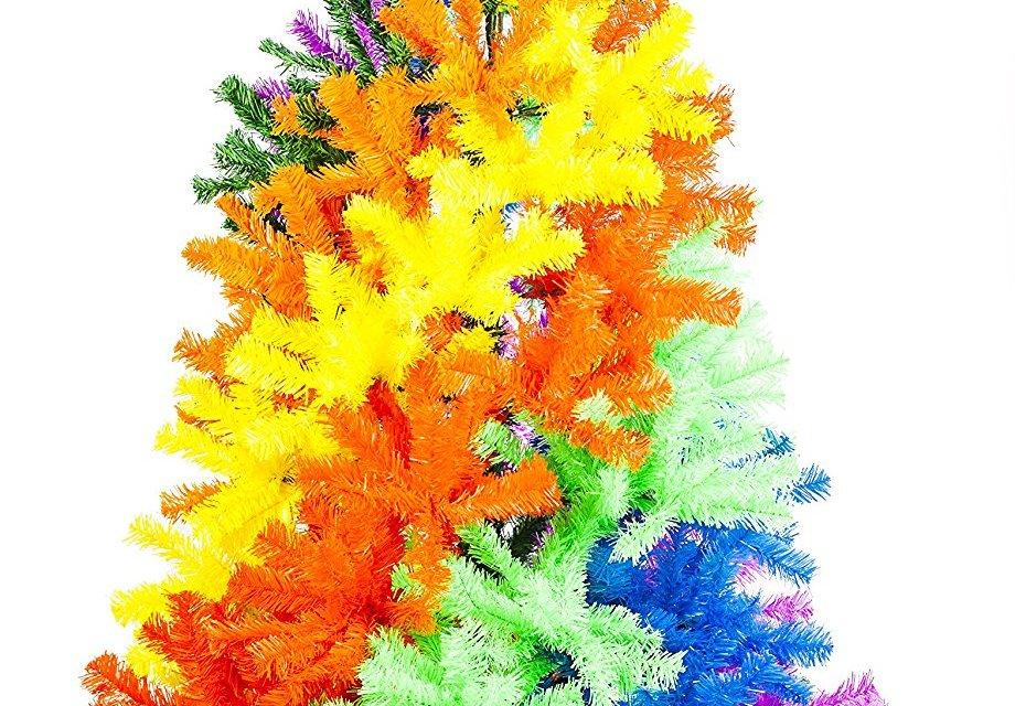 Beautiful Tie Dye Christmas Trees!