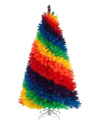 7 foot Tie Dye Christmas Tree