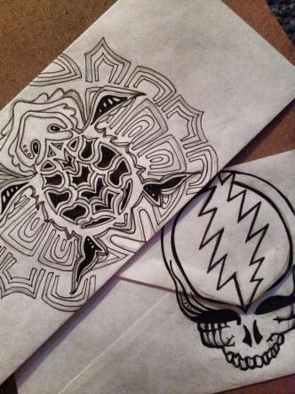 Deadhead ENvelope Art for Dead 50 orders (15)