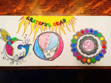 Deadhead ENvelope Art for Dead 50 orders (2)