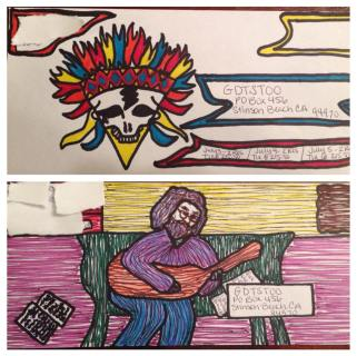 Deadhead ENvelope Art for Dead 50 orders (26)