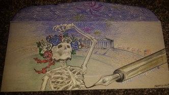 Deadhead ENvelope Art for Dead 50 orders (40)