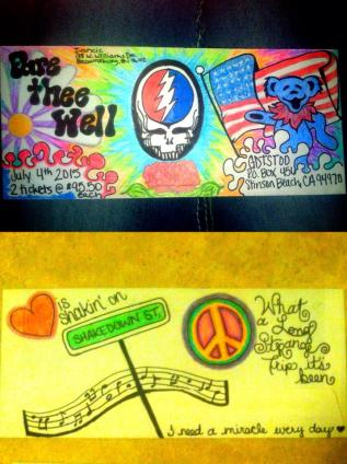 Deadhead Envelope art for Dead50 Mail Order (12)