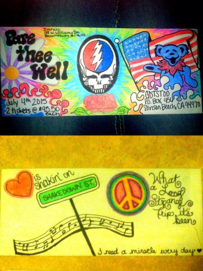 Deadhead Envelope art for Dead50 Mail Order (12)