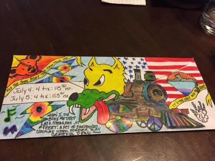 Deadhead Envelope art for Dead50 Mail Order (21)