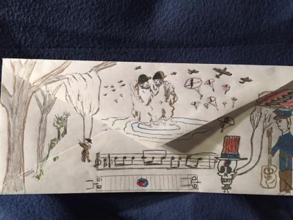 Deadhead Envelope art for Dead50 Mail Order (31)