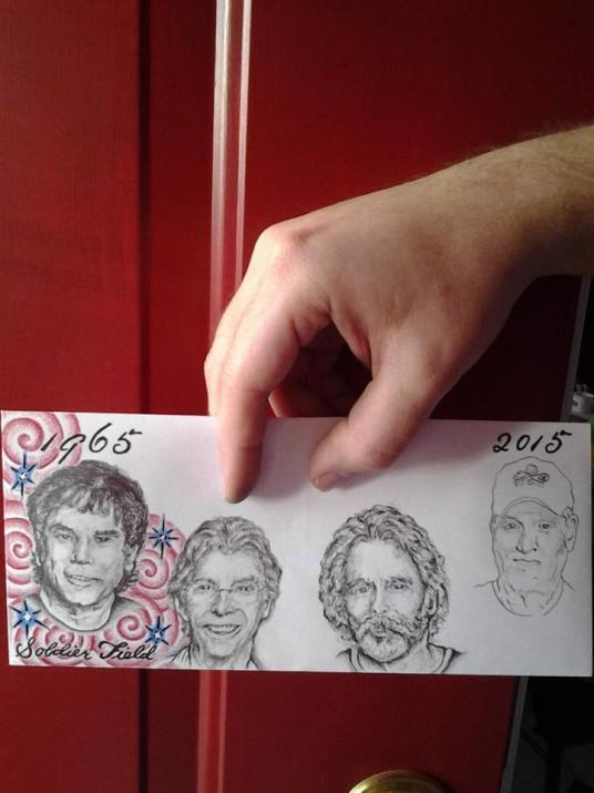 Deadhead Envelope art for Dead50 Mail Order (39)