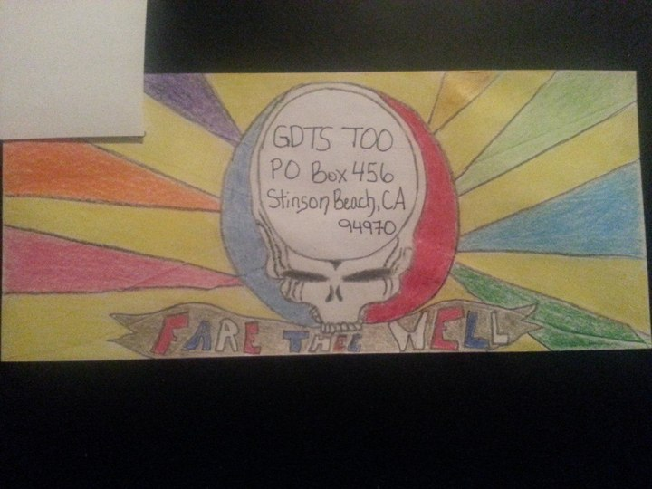 Deadhead Envelope art for Dead50 Mail Order (6)