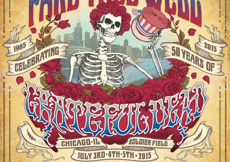 "SHOWS ANNOUNCED! ""Fare Thee Well: Celebrating 50 Years of Grateful Dead"" with Trey Anastasio Chicago July 3, 4, 5!"