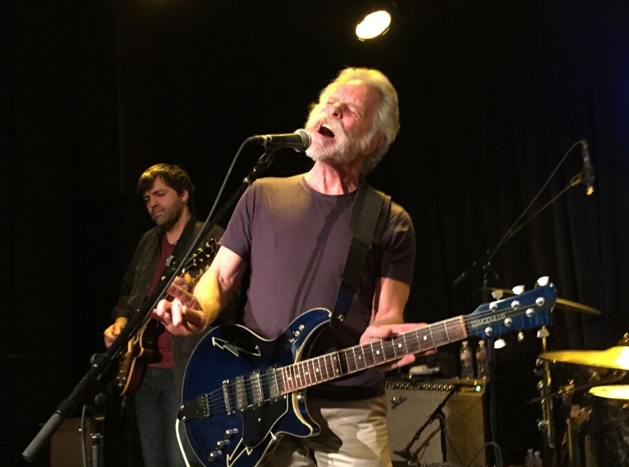 SETLIST: Bob Weir sit in w Jackie Greene Band  (Electric) April 15th, 2015 Sweetwater Music Hall Mill Valley, CA