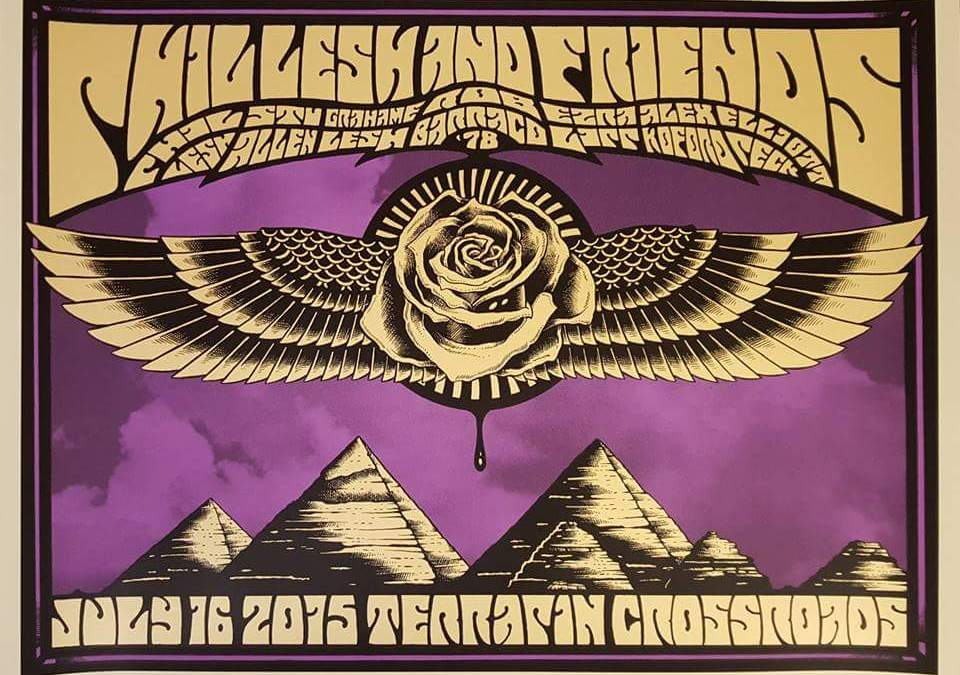 "SETLIST: Phil Lesh and Friends re-creation ""Grateful Dead at Red Rocks July 8 1978"", Terrapin Crossroads, San Rafael California July 16 2015 #Dead50"