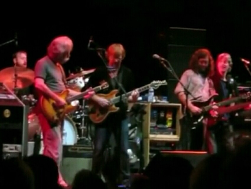 "VIDEO: Furthur w Trey Anastasio ""Fire On The Mountain"" Lockn' Music Festival 9/7/13"