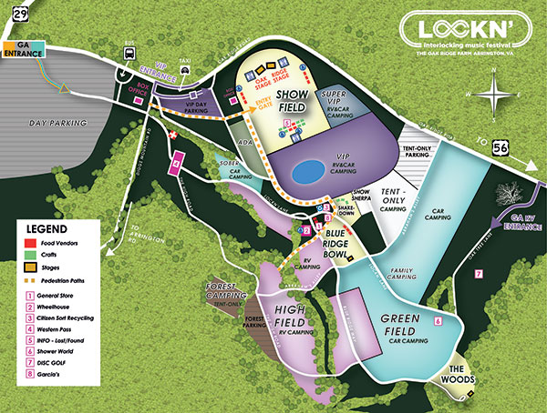 Keep On Keepin' On Dept: LOCKN' Campgrounds to open FRIDAY! & WHERE to hang out in Lynchburg in the meantime…