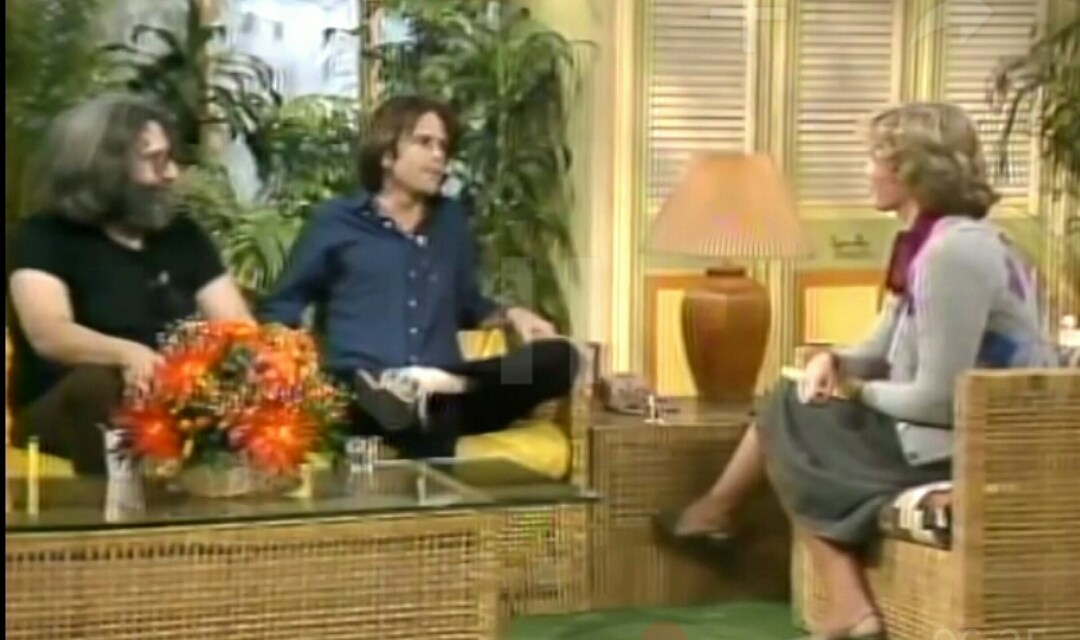 VIDEO: Jerry Garcia & Bob Weir – Interview ~ Good Morning America 10.29.1980
