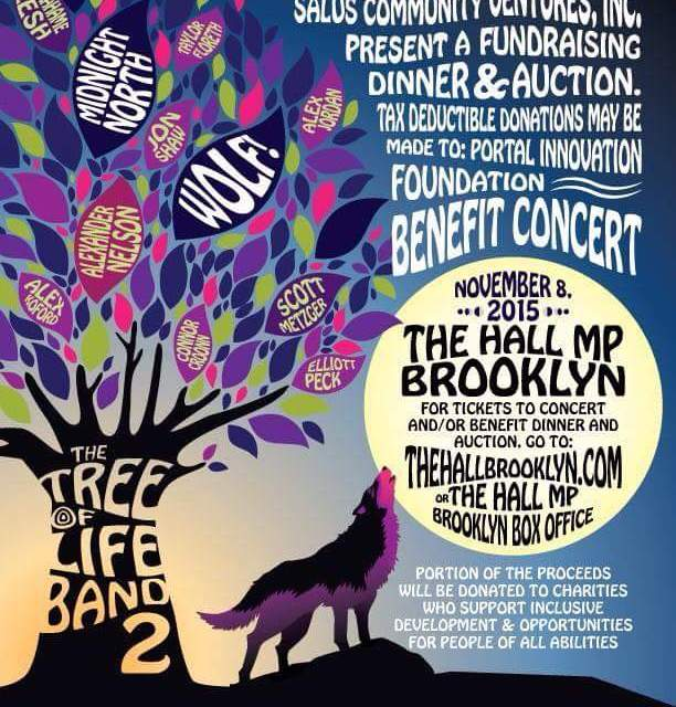 SHOW ANNOUNCEMENT! Tree of Life II BENEFIT w Midnight North, Wolf, Alex Nelson