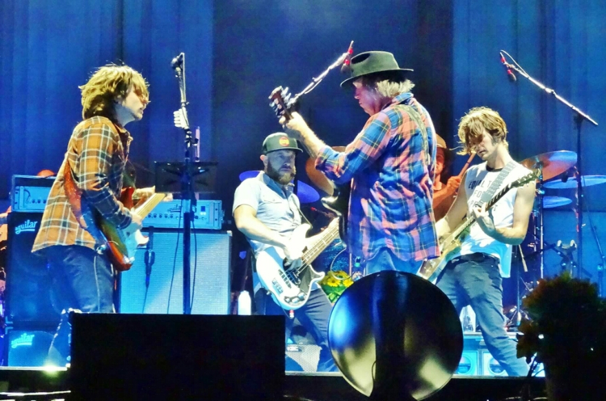 SETLIST: Neil Young + Promise of the Real Sat. Oct. 17, 2015 The Greek Theatre Berkeley, CA