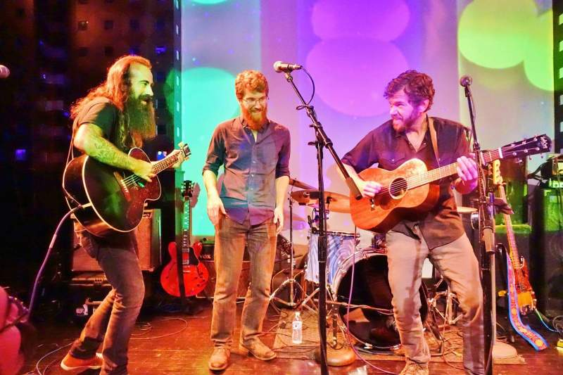 Ross James, Grahame Lesh, Scott Law -  Cosmic Twang at SOBs 11.4.15  Photo by Doug Clifton