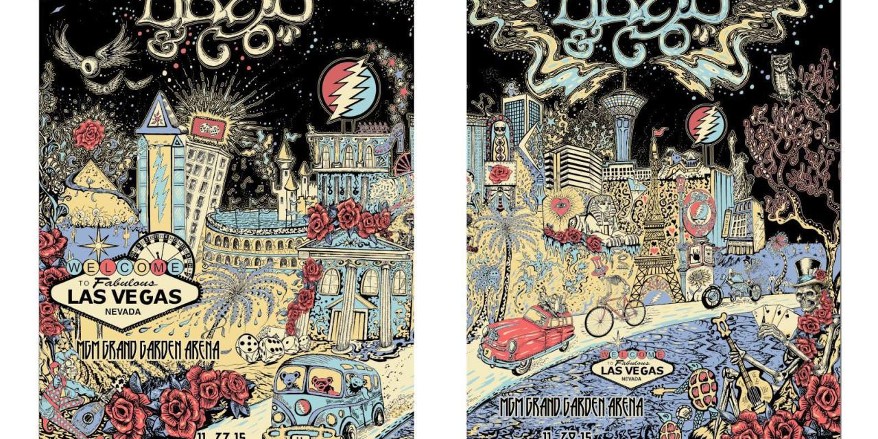 VIDEO Playlist:  Dead And Company  | Las Vegas NV | Saturday November 28, 2015