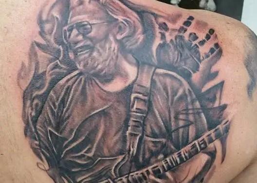 Jerry Garcia Tattoo – #TattooTuesday Dec. 22 2015