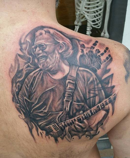 Jerry Garcia Tattoo – #TattooTuesday Dec. 22 2015