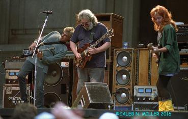 Jerry Garcia Band - Greek Berkeley 8.30.1987 by Caleb Miller (9)