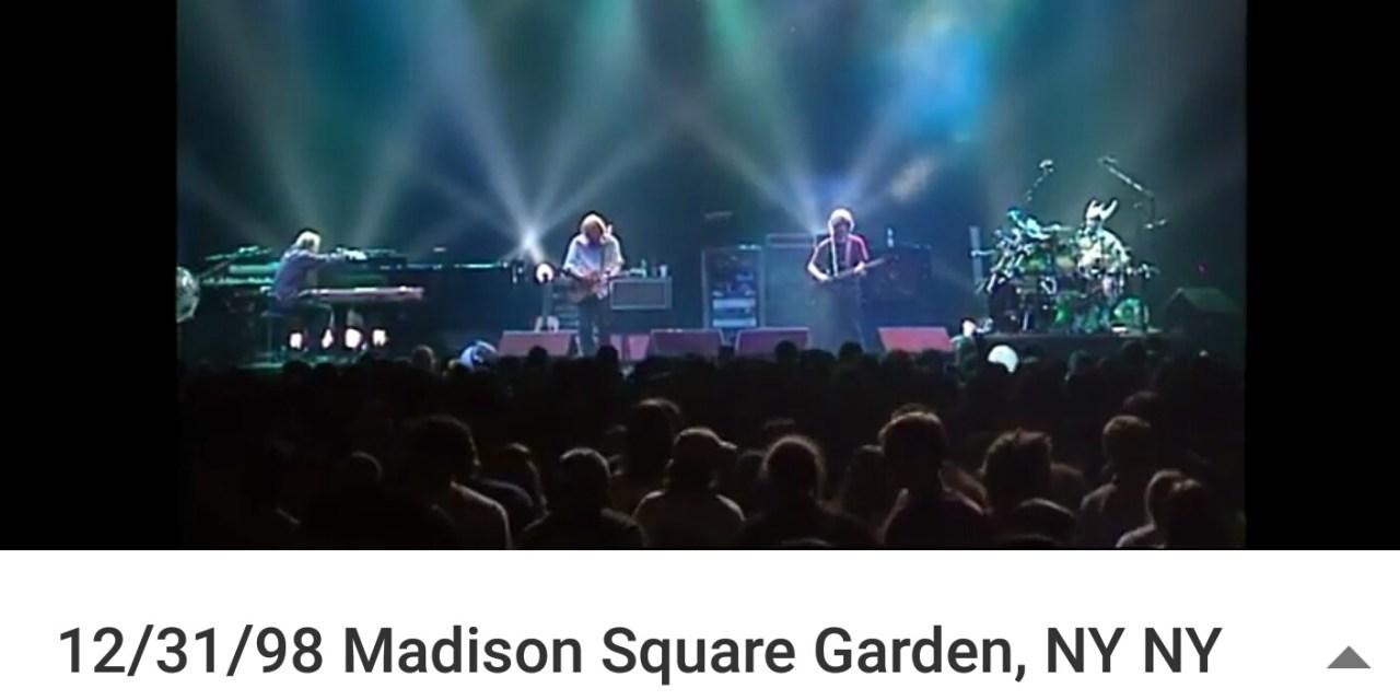 """Prince Tribute: Phish """"1999""""  12/31/98 Madison Square Garden, NY NY"""