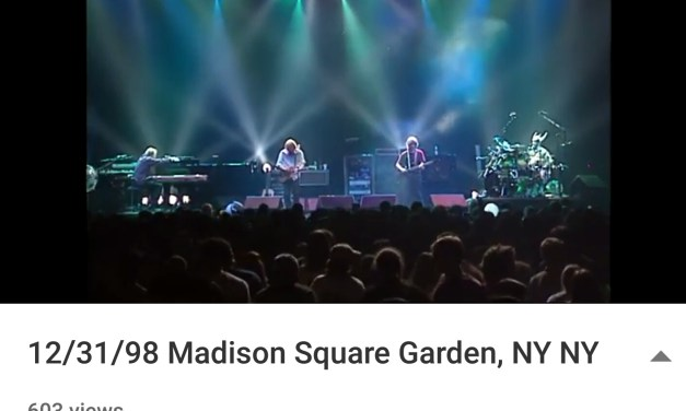 "Prince Tribute: Phish ""1999""  12/31/98 Madison Square Garden, NY NY"