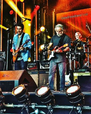 SNEAK PEAK: Dead and Company appear tonight on @JimmyKimmel LIVE