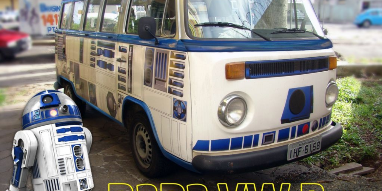 DEAD SLEDS: R2D2 VW Bus – INSTRUCTABLES.com shows how to make your own before summer tour