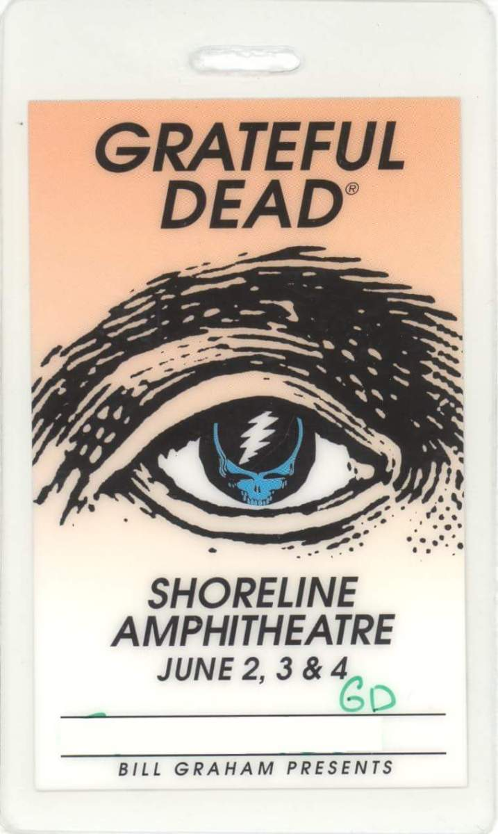 The Grateful Dead's final performance at Shoreline Amphitheatre, June 4, 1995